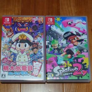 Nintendo Switch 桃太郎電鉄  スプラトゥーン2 セット