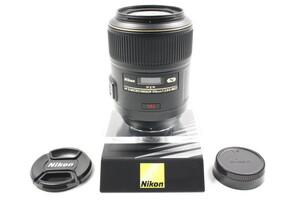 【 HORITA CAMERA 】A(極上品) 1839 Nikon AF-S Micro NIKKOR 105mm F2.8 G ED VR 2164514 ニコン 単焦点 マイクロ 手振れ補正 フルサイズ