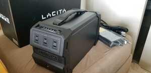 LATICA エナーボックス 水に強いポータブル電源 未使用 送料無料