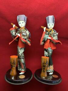 日本人形 杵 2体セット