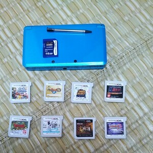 3DS本体 ソフト8本セット