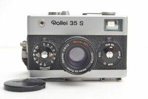 W898Y28Z//ROLLEI ローライ 35 S シルバー コンパクト フィルム カメラ