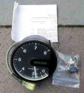 used race Tec tachometer