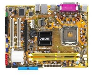 美品 ASUS P5GC-MX マザーボード Intel 945GC LGA 775 Pentium D,Celeron D,Prescott,Conroe 対応 Micro ATX DDR2