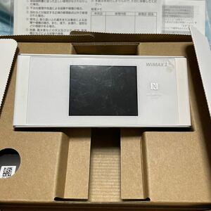 UQ WIMAX 2+ speed WiFi next W05 ホワイト