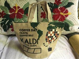 KALDI カルディ コーヒーの日 ミニ トートバッグ