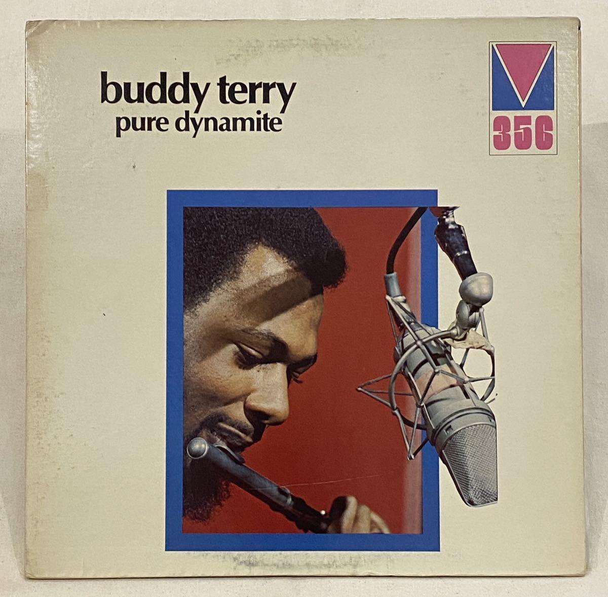 【貴重な米ホワイト・プロモ】Spiritual Jazz Funk!! Buddy Terry/Pure Dynamite ジャズ/ファンク/Deep Jazz/オリジナル盤