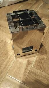改良版(組立簡易化) コンパクト焚き火台 組立分解式 角型 二次燃焼 ウッドストーブ オリジナル設計品