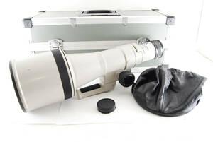 CANON キャノン NEW FD 600mm F4.5 ケース付き #826637