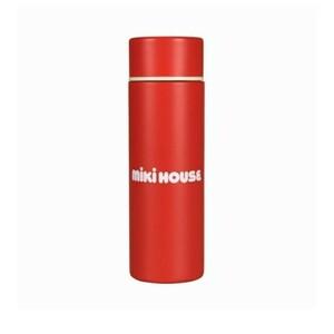 新品 未使用 ミキハウス ステンレスボトル ミニボトル  水筒  軽量