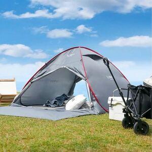 新作 LOWYA 200cm ポップアップテント耐水収納バッグ付き