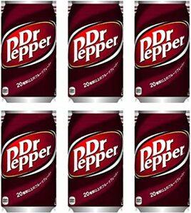 6缶 ドクターペッパー350ml×6缶(コカコーラ)