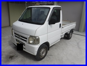 """price cut! Honda Acty Heisei era 13 year vehicle inspection """"shaken"""" attaching R5.8 month till immovable car! AC PS 5 speed mission light truck truck Hyogo prefecture"""