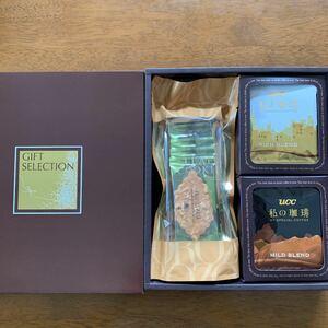 UCC モロゾフ コーヒー&焼菓子詰合せギフト ドリップコーヒー リーフクッキー