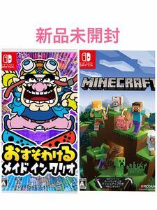 おすそわける メイド イン ワリオ、マインクラフト Nintendo Switch ソフト