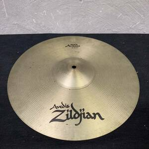 "◯(N3 sa) Zildjian Rock Crash 16"" ジャンク 割れ ジルジャン シンバル ドラム パイステ ケース付き (Ω0360)"
