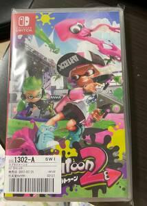 【中古品】Nintendo Switch ソフト スプラトゥーン2 ニンテンドースイッチ