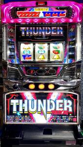 Pachislot period limited special price Thunder V Ribolt Stepply Volume with Real Machine Slot Used