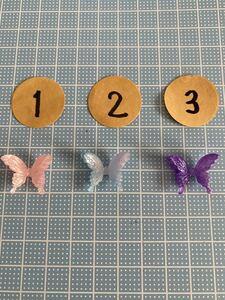 デコパーツ 蝶々