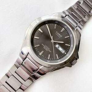 CASIO LINEAGE メンズクォーツ腕時計 稼動品 チタン素材