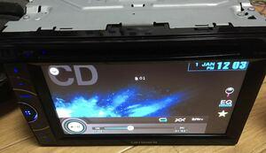 carrozzeria カロッツェリア 2DIN DVDプレーヤー FH-780DVD DVD USB ipod AUX チューナー 動作確認済み 中古