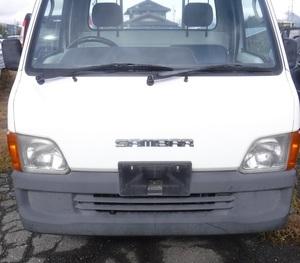 SUBARUスバル平成11年式サンバー トラック発煙筒TT2パーツ売り可能です!! 955白 4WD 5速MTミッション車 サンバートラックEN07エンジンTT1