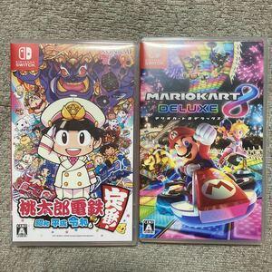 Nintendo Switch 任天堂Switch マリオカート8デラックス 桃鉄 ニンテンドースイッチソフト