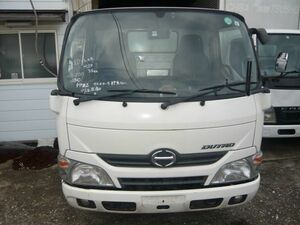 Heisei era 28 year Dutro cabin ASSY low roof front around included putting substitution for 35 ten thousand .N04C TKG-XZC605M mileage tested