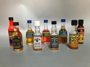 ウイスキー リキュール ミニボトル9本セット ミニチュア