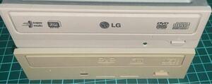 【闇ジャンク】読み込まない、開かないDVDマルチドライブとDVD ROMドライブ LG/BUFFALO IDE接続
