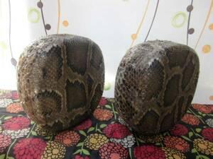 緊急特価(送料無料) 9.800円開始  少し上位の沖縄三線用蛇皮(二重張)チーガにオランダ牛爪付