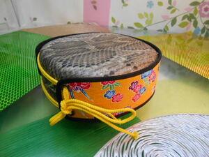 現品販売(送料無料)12.980円 沖縄三線専用 蛇皮強化張り(二重張)チーガと胴巻きセット