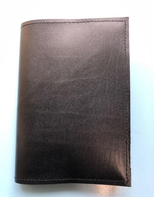 日本製★本革ブックカバーブラック 16.3×31.2cm 文庫サイズ★新品