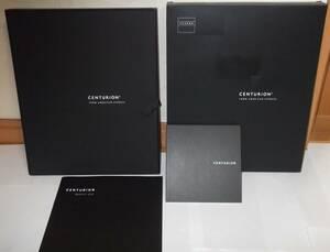 希少 ラスト1セット 外箱も付属 内箱 冊子 封筒 ネームタグ アメックス AMEX アメリカンエキスプレス センチュリオン タグ ブラックカード