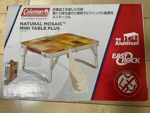 コールマン(Coleman) テーブル ナチュラルモザイクミニテーブルプラス