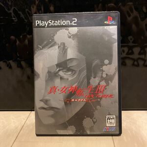 PS2 真・女神転生3 マニアクス ノクターン PS2ソフト