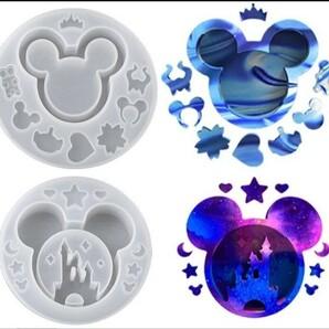 シリコンモールド シェイカーモールド レジン型モールド ディズニー ミッキーマウス