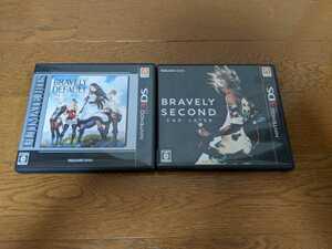 ブレイブリーデフォルトフォーザ・シークウェル ブレイブリーセカンド 2本セット 3DS