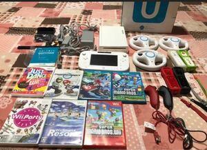 任天堂WiiU 32GB 本体&ソフト&付属品 すぐに遊べるセット