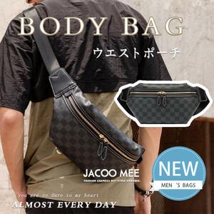 新品ウエストバッグ ウエストポーチ ボディバッグ メンズ バッグ ウエストバッグ ウエストポーチ ボディバッグ メンズ バッグ かばん