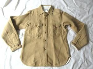 J.S.Homestead 30'sStyle ワークシャツ S