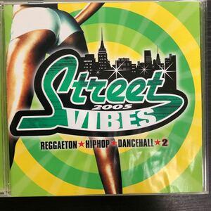 CD/ストリート・ヴァイヴス2/帯付き/レゲトン、ヒップホップ、ダンスホール/オムニバス
