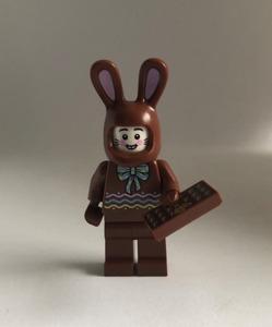 即決 新品 未使用 レゴ LEGO ミニフィグ うさぎの着ぐるみ ミニフィギュア  チョコレート かわいい イースター