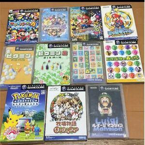 ゲームキューブソフト8本まとめ売り