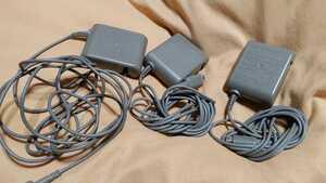 匿名配送即決3個★ニンテンドーDS Lite 用 純正 ACアダプタ 充電器 DSライト USG-002