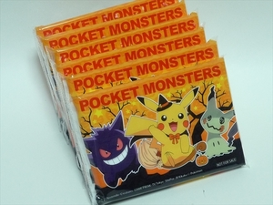 POCKET MONSTERS/ポケモンオリジナル「ハッピーハロウイン ティッシュ6個セット」NISSAY非売品■未使用