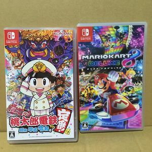 【Switch】 マリオカート8 デラックス 桃太郎電鉄