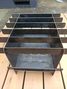 焚き火台 黒皮鉄板