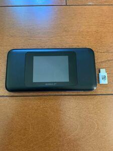 モバイルルーター                  Speed Wi-Fi NEXT W06 ブラックxブルー