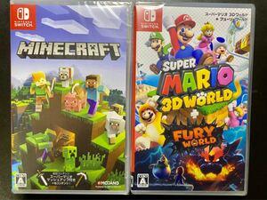 【2本セット】マインクラフト + スーパーマリオ 3Dワールド